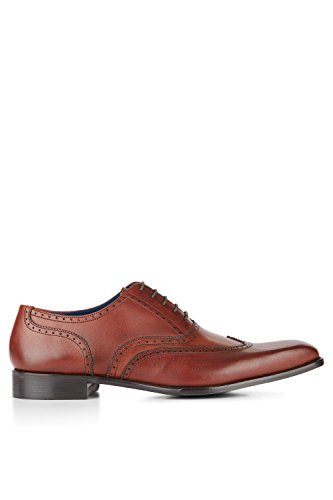 Moss 1851 Men's Charles Red Wing Tip Brogue 10.5 by Moss 1851