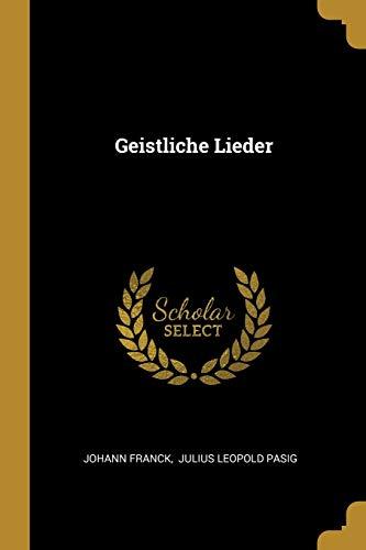 Image of Geistliche Lieder (German Edition)