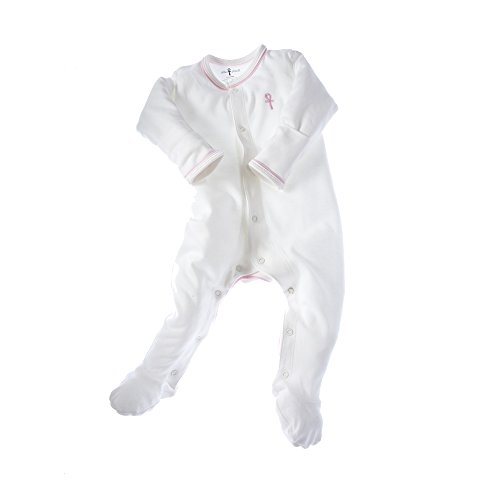 little-pharo-100-extra-long-staple-egyptian-cotton-footed-one-piece-bodysuit-ivory-with-pink-piping-