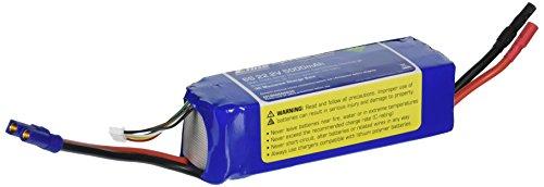 E-flite 5000mAh 6S 22.2V 30C LiPo 10AWG EC5 Battery