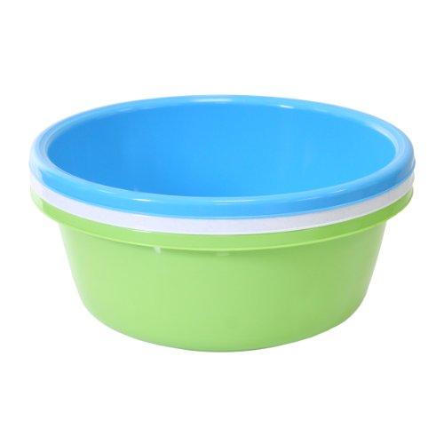 6 Stück Kunststoffschüssel Durchmesser 24 cm cm 2,5 Liter farbig sortiert