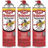 CRC Brakleen 05050 Brake Parts Cleaner - 50 State Formula PowerJet Technology (Pack of 3) by CRC
