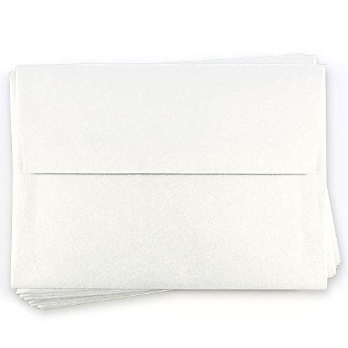 A1 Curious Metallics Ice Gold Envelopes - Straight Flap, 80T, 25 Pack