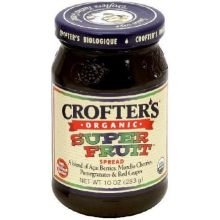 Crofters Organic Super Fruit Spread, 10 Ounce - 6 per case.