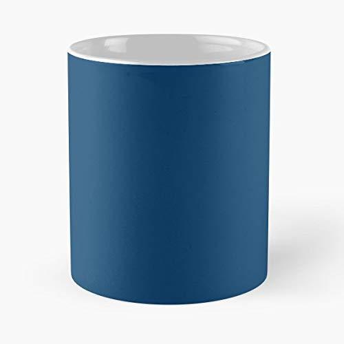 Indigo Blue Blu Gift Coffee/tea Ceramic Mug 11 ()