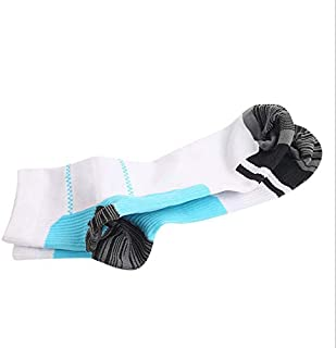 Elastic compression socks