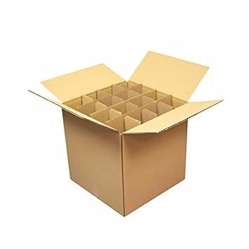 Carton Market - Caja de cartón especial para copas de champán: Amazon.es: Oficina y papelería