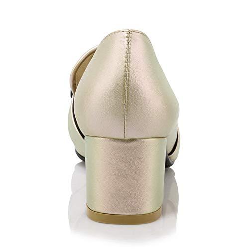 Oro Zeppa 35 Sconosciuto MMS06303 con Donna 1TO9 Sandali Gold H4TpT1nfx