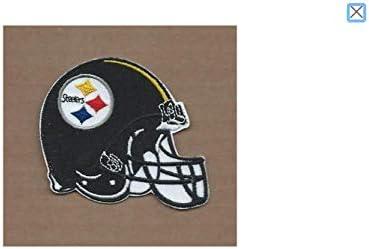 [해외]Pittsburgh Steelers Helmet. Patch Iron On. Sew On. Size 3`` x 4`` (75mm x 100mm) / Pittsburgh Steelers Helmet. Patch Iron On. Sew On. Size 3`` x 4`` (75mm x 100mm)