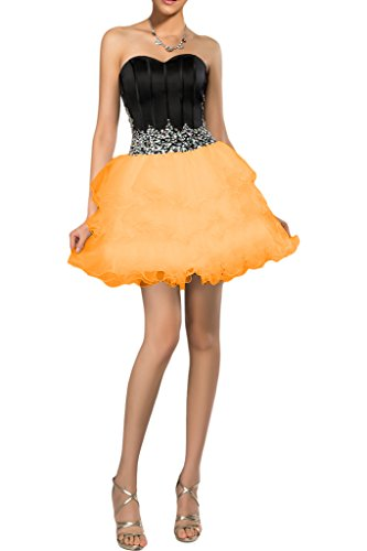 Missdressy - Robe - Femme -  Orange - 36