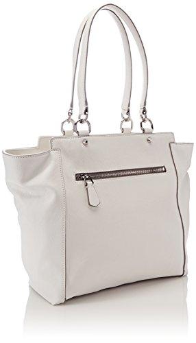 Guess Damen Bags Hobo Schultertasche, 12.5x28x40.5 centimeters Weiß (White)