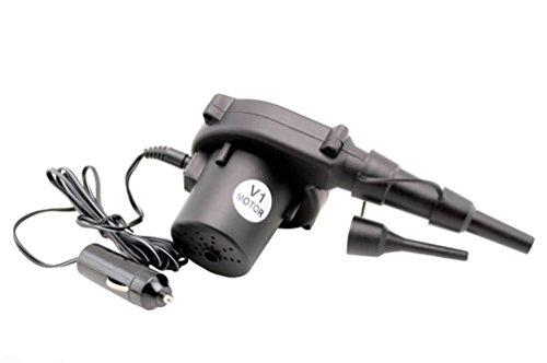 V1 Motor 12 Volt DC Portable Mini Air Inflator / Deflator Electric Pump by V1 Motor