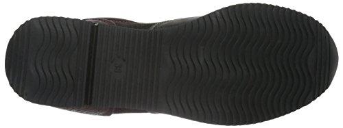 Mujer Zapatillas Tozzi para Marco 23710 Vino azAwq
