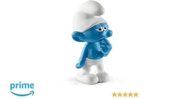 Clumsy Smurf 2 inch Plastic Figurine 20161