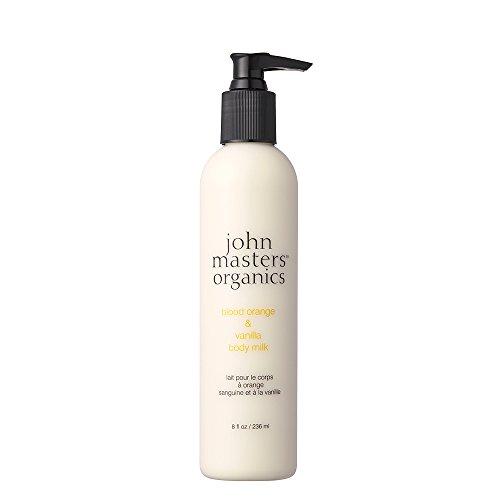 John Master Organics Body Milk, Blood Orange/Vanilla, 8 Fluid Ounce