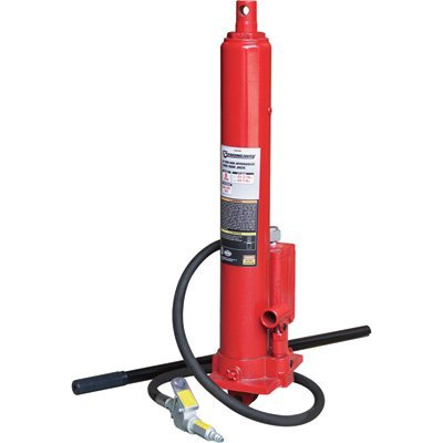 Strongway Air/Hydraulic Long Ram Jack - 8-Ton Capacity, 24 3/16in.-42 7/8in. Lift Range ()