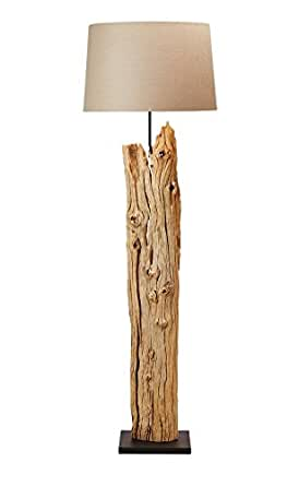 O Thentique Rustic Driftwood Floor Lamp 69 Quot Reclaimed