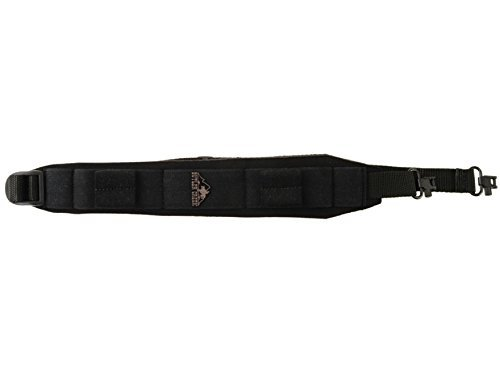 Butler Creek Comfort Stretch Alaskan Magnum Sling with Sewn-In Swivels, Black by Butler Creek