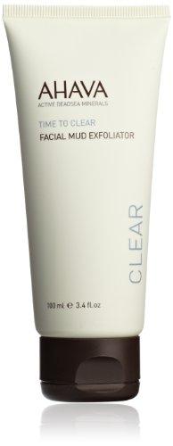 AHAVA Time to Clear Facial Mud Exfoliator, 3.4 fl. oz.