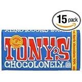 Tonys Choco Lonely 70 Percent Xtra Dark Chocolate Bar, 6 Ounce - 15 per case.