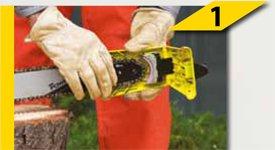 3//8 1,3 mm Oregon PowerSharp Starterset f/ür Motors/äge MCCULLOCH EAGERBEAVER 40 cm Schwert Schnittl/änge