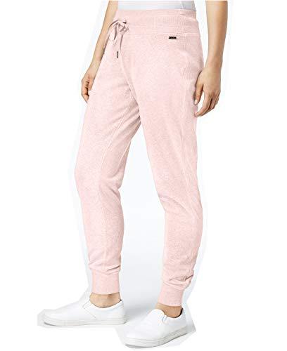 Calvin Klein Womens Pull-On Straight Leg Sweatpants Pink XL