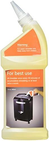 Bonsaii Paper Shredder Lubricant Oil for Home Tools, 12 oz Bottle