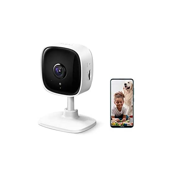 TP-Link Tapo C100 1080p Full HD Indoor WiFi Spy Security Camera| Night Vision | Two Way Audio| Intruder Alert | Works
