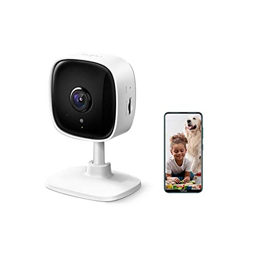 TP-Link Tapo C100 1080p Full HD Indoor WiFi Spy Security Camera  Night Vision   Two Way Audio  Intruder Alert   Works…