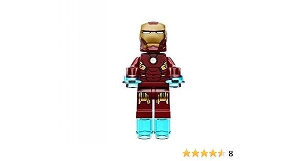 Lego Super Heroes Iron Man Mark 7 Minifigure