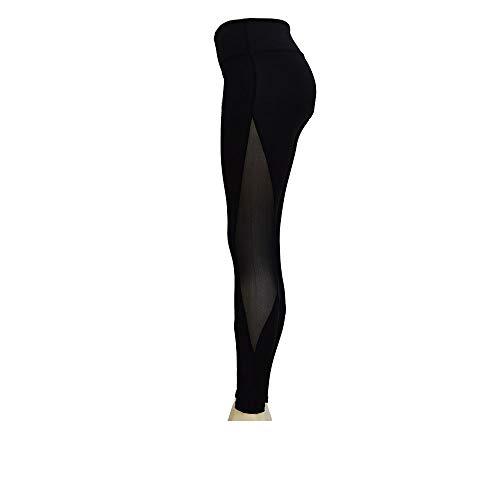 Real Power Womans Leggings Training/Workout/Yoga/Running/Empower Yourself! Black, Medium