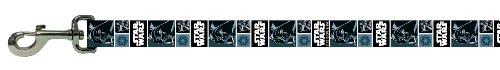 Star Wars Black & Blue Darth Vader Dog Leash Lead 6' x 3/4""