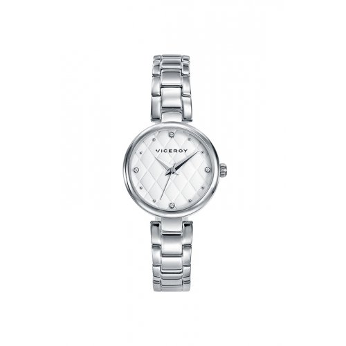 White Woman Watch Viceroy 471064-13 Steel