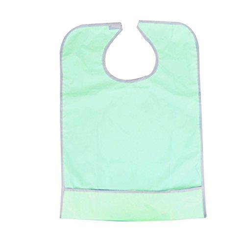 PIXNOR Lätzchen für Erwachsene Wasserdichte (hellgrün)