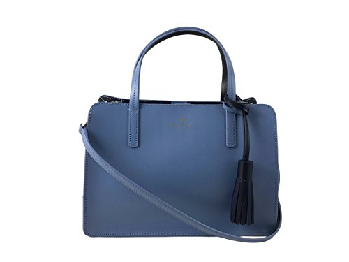Kate Spade New York ilise Rowan Street Leather Satchel Handbag in Tile and French Navy by Kate Spade New York