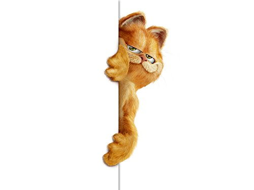 GARFIELD Personalized Edible Frosting Image 1/4 sheet Cake -