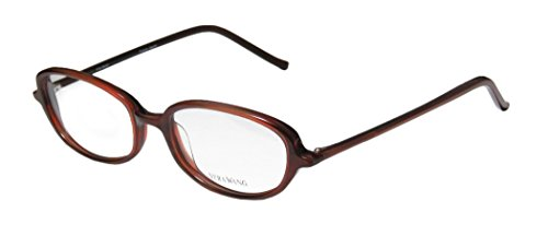 Vera Wang V40 Womens/Ladies Ophthalmic Inexpensive Designer Full-rim Eyeglasses/Eyeglass Frame (49-17-133, Burgundy)
