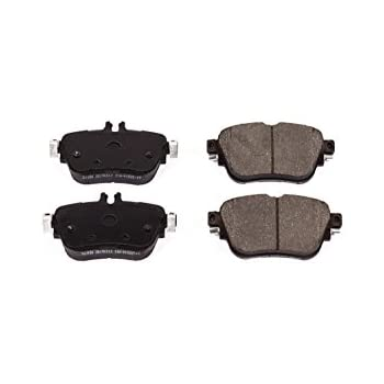 Both Left and Right with 2 Years Manufacturer Warranty 2017 For Mercedes-Benz E300 Rear Ceramic Brake Pads