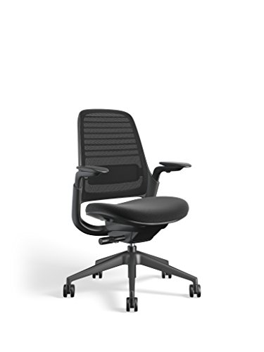 Steelcase 435A00 Series 1 Work Office Chair, Licorice ()