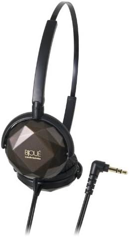 Audio Technica ATH-FW33 FashionFidelity BIJOU On-ear Headphones, Brown