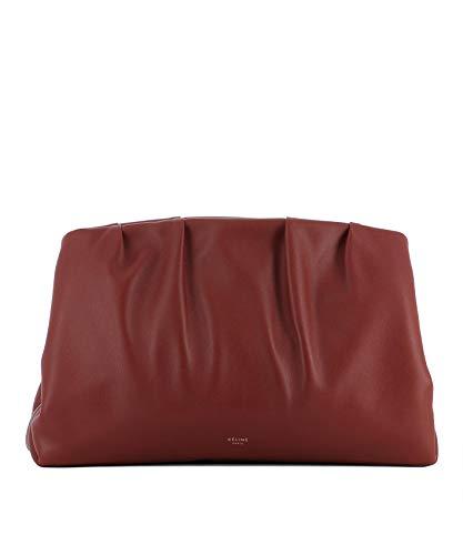 Céline 185333A8V28CH Pochette Femme Cuir Rouge rwX1r5axq