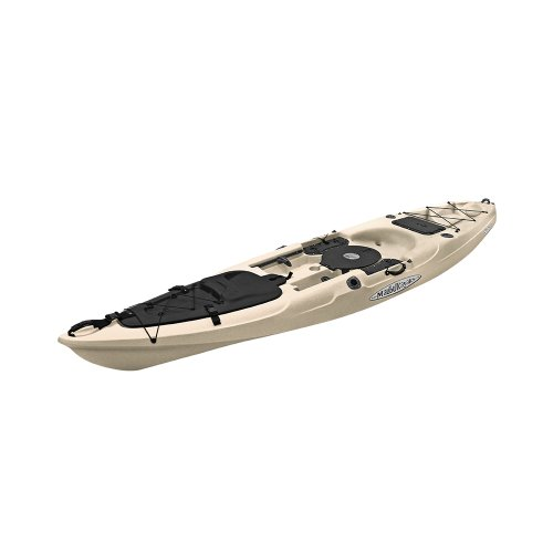 Malibu Kayaks Stealth 14 Fish and Dive Package Sit on Top Kayak,...