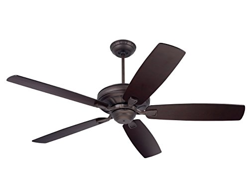 Emerson Ceiling Fans CF784ORB Carrera, 60-Inch Indoor Ceiling Fan, Light Kit Adaptable, Oil Rubbed Bronze Finish ()