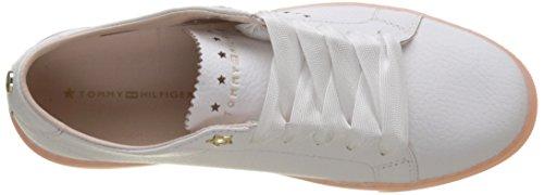 Star Basse Donna Scarpe Essential 100 White Ginnastica Tommy Hilfiger Sneaker Bianco da Perf gwxx6Uq