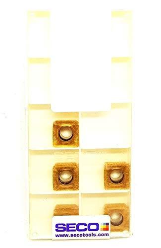 Seco SCET 120612T-ME10 Hartmetalleinsätze F40M Frässpitzen #SB2, 5 Stück
