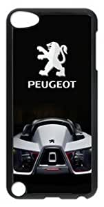 Customizablestyle Peugeot Concept Car and Logo iPod Touch 5 Case Hard Shell(PC Material) hjbrhga1544