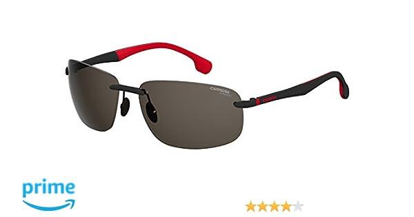 Carrera Mens 4010/s Rimless Sunglasses, 62mm, Black Grey