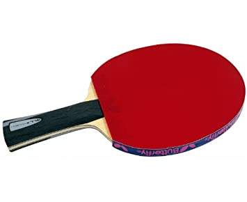 BUTTERFLY Boll ALL Table Tennis Bat (with Sriver FX Rubber): Amazon ...