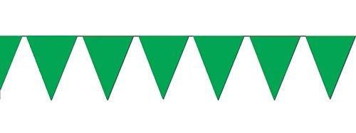 Fun Express Green Pennant Banner, - Pennant Banner 12'