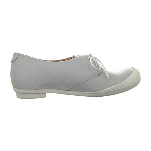 Tracey Neuls Geek Grey Reflective - Zapatos de cordones de Piel Lisa para mujer grey reflective